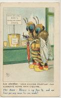 Mich Né A Perigueux Les Abeilles Humanisées Miel Apiculture Human Bees Honey - Mich