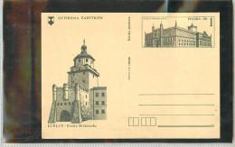 POLSKA -  LUBLIN   -  LUBLINO PORTA DI CRACOVIA - Torretta Di Orologio A Cracovia Gate - Orologeria