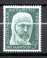 AUSTRALIE ANTARCTIQUE N° 7 NEUF SANS CHARNIERE  COTE 1.25€ MAWSON - Unused Stamps