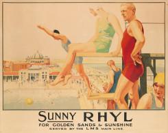 @@@ MAGNET - SUNNY RHYL - Reklame