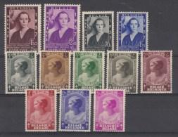 Nr 456/457, 457A/457B, 458/465 **, Cote = 50 € (X10375) - Belgique