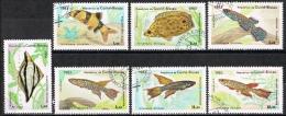 L082 FAUNA VISSEN FISH POISSONS FISCHE GUINEA-BISSAU 1983 Gebr / Used - Poissons