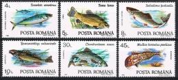 L181 FAUNA VISSEN FISH POISSONS FISCHE MAKREEL BAARS ROMANIA 1992 PF/MNH - Poissons
