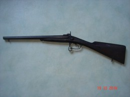 Ancien fusil de chasse � chiens