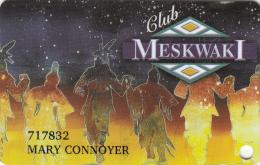 Meskwaki Casino - Club Card - Tama - Iowa - USA