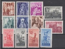 Nr 773/776, 777/780, 781/784 **, Cote = 51 € (X10759) - Belgique
