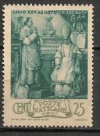 Timbres - Vatican - 1943 - 25 Cent. - - Neufs