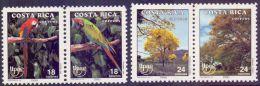 COSTA RICA    1990 UPAE 4V      MNH - Costa Rica