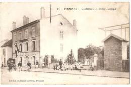 Dépt 54 - FROUARD - Gendarmerie Et Station Électrique - Frouard