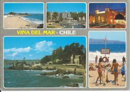 Cp , CHILI , Viña Del Mar , Multi-Vues - Chili