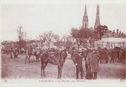 FRANCE : CHARTRES : ## Marché Aux Chevaux ## Reproduction D'une Ancienne Carte Photo - Nieuwe Postkaart / Carte Postale. - Chartres
