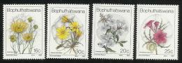 Bophuthatswana 1987 Flowers MNH - Bophuthatswana