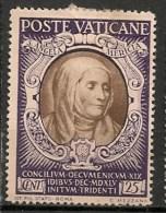 Timbres - Vatican - 1946 - 25 Cent. - - Vatican