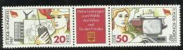 Germany DDR 1987 11th FDGB Congress set MNH