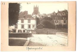 Dépt 29 - QUIMPERLÉ - Photographie Collée Sur Carton D´origine, 1904 - Buvette Quimperloise - Photo - Quimperlé