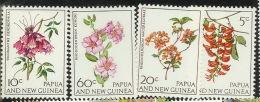 Papua New Guinea 1966 Flowers MNH - Papoea-Nieuw-Guinea