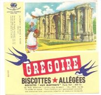 Buvard Allégées Grégoire  La Porte De Mars à Reims Marne - Biscottes