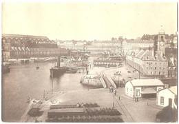 Dépt 29 - BREST - Photo 7,7 X 11,2cm - Arsenal - Port - Photographie, 1904 - Brest