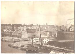 Dépt 29 - BREST - Photo 8 X 11cm - Arsenal - Port - Photographie, 1904 - Brest