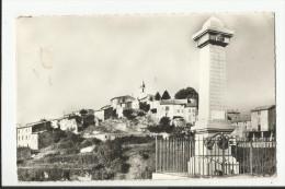 CPSM VALERNES , LE MONUMENT ET LE VILLAGE - Andere Gemeenten
