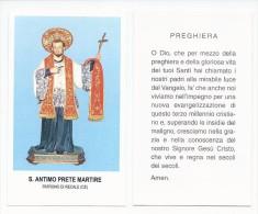 San Antimo - Patrono Di Recale - Sc1. M4 - Images Religieuses