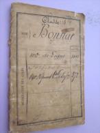LIVRET MATRICULE POILU DU 112 RGT INFANTERIE DE LIGNE 1874 ET 141 RI - Documents