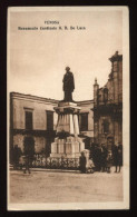 VENOSA - POTENZA - 1935 - MONUMENTO AL CARDINALE DE LUCA. RIFILATA.