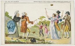 Le Jeu Du Diable Diabolo Sports Et Jeux D Adresse Henry D' Allemagne Pub Belle Jardiniere - Cartes Postales