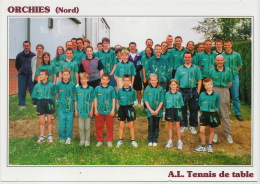 Orchies Nord A.L. Tennis De Table Ping Pong 2001 Tirage Limité 500 Ex - Table Tennis