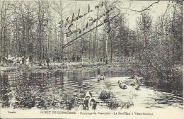 CPA De La Forêt De COMPIEGNE - Equipage Du Francport - Le Bat L'Eau à Vieux Moulins. - Compiegne