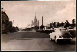 Russie / Russia , Mockba / Moscou / Moscow - 1956 - Real Photo Postcard - Old Rare Car - Russia