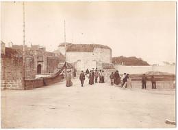 Dépt 29 - CONCARNEAU - Photo 8 X 11cm - Entrée De La Ville Close - Photographie, 1904 - Concarneau