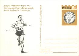 POLSKA -     MEDAGLIA  OLIMPICA  SQUAW  VALLEY - Stamped Stationery