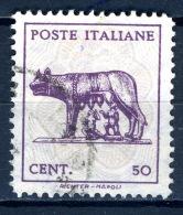 1943 - Regno - Italia - Italy - Sass. Nr. 515 -  Used (o) - (PG19092014...) - - 1944-46 Lieutenance & Humbert II