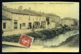 Cpa Du 55  Fresnes Sur Woëvre Rue De Metz Et Le Longeau      JUI9 - Verdun