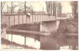 Dépt 54 - FROUARD - Ponceau Sur La Moselle Canalisée (Ban-la-Dame) - Train - Frouard