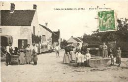 Jouy-le-Châtel : Place Du Petit-Paris - Frankreich