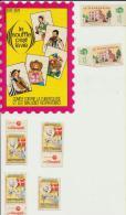 Tuberculose Lutte Timbres 1978/1979 1954 - Vecchi Documenti