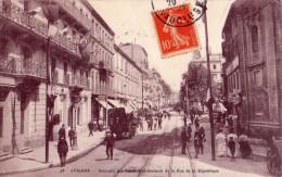 AVIGNON SOUVENIR DES FETES PAVOISEMENT DE LA RUE DE LA REPUBLIQUE - Avignon