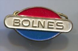 BOLNES - Ship Engines, Scheepsmotoren, Boat, Holland, Netherland, Vintage Pin Badge, Abzeichen - Boats
