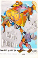 7e Salon International De La Carte Postale - Paris, Hôtel George V, 1978 - Bourses & Salons De Collections