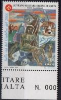 PIA - SMOM - 1999 : Verso L´ Anno Santo Del 2000 - Stazioni Della Via Crucis Dipinte Da Gino Severini - (UN 596-600) - Malta (la Orden De)