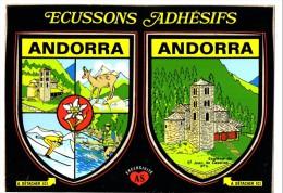 ANDORRA ECUSSONS ADHESIFS - Andorra
