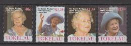 Tokelau MNH 294/97 from 2000