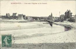 CPA De WIMEREUX - Vue Sur L'Eglise Et Le Canal. - Andere Gemeenten
