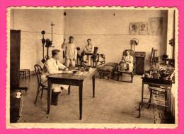 H�pital de la Caisse Charbonnages du Couchant de Mons � Boussu - M�canoth�rapie et diathermie - LEON WILLAME