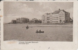5302. Gelaufene Photoansichtskarte vom Kosziusko-Qai - Marke fehlt. Q2!