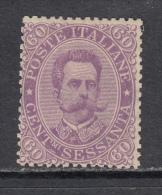 1889   YVERT  Nº  44   / * / - 1878-00 Umberto I