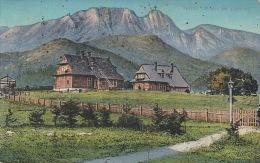 5305. Gelaufene Ansichtskarte vom Tatra - Marke fehlt. Q2!