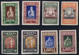 LITHUANIA. 1933. LIETUVA, CHILD´S HELP. IMPERF, FULL SET, MNH OG ! - Lithuania